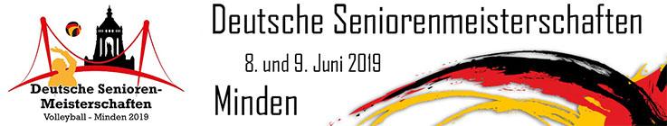 Deutsche Seniorenmeisterschaften Volleyball 2019 - Minden